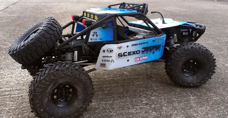 Runde Chevy >> Axial Honcho Interior. Axial SCX Jeep Cherokee In Scala 1 10 Video . Pro Line Ford F 250 Super ...